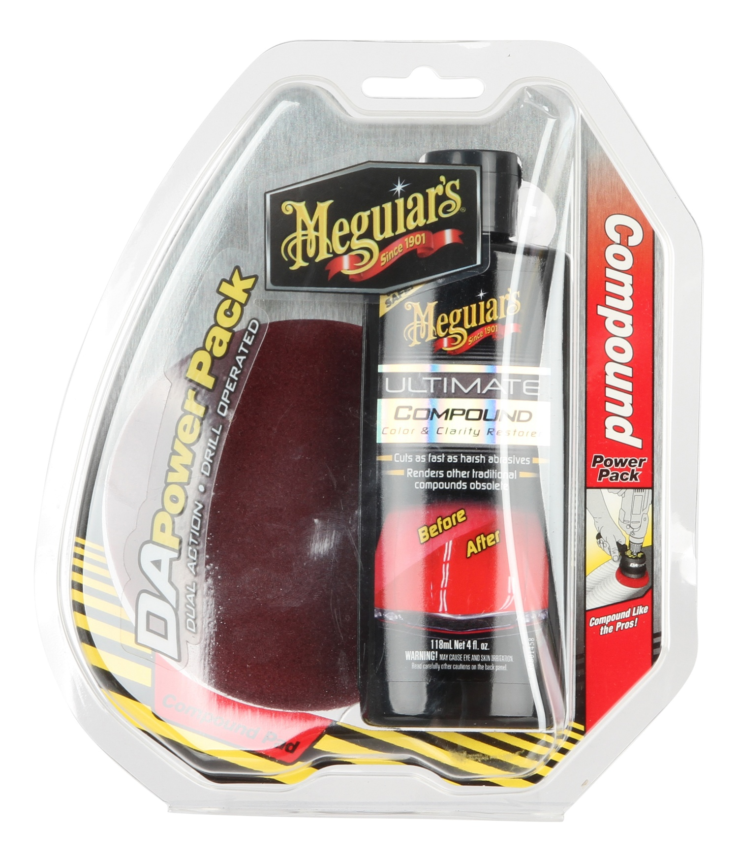 meguiars dual action ultimate compound power pack g3501int. Black Bedroom Furniture Sets. Home Design Ideas