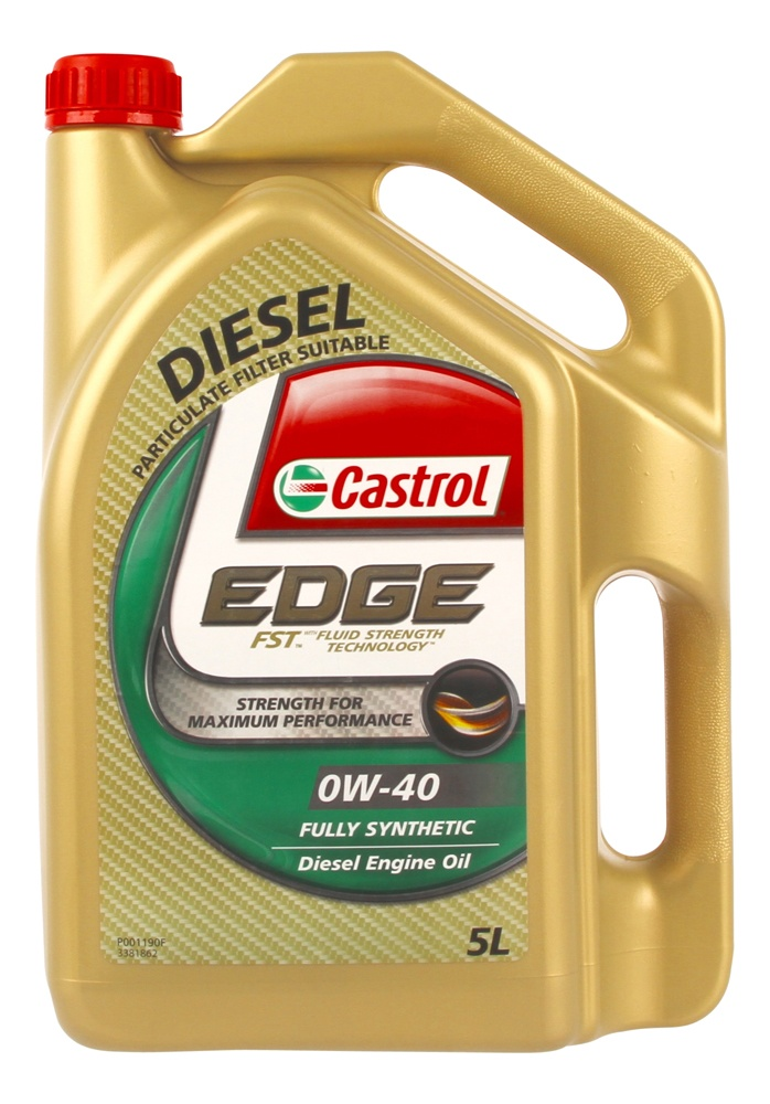 Castrol Edge Full Synthetic 0w40 Diesel Engine Oil 5l