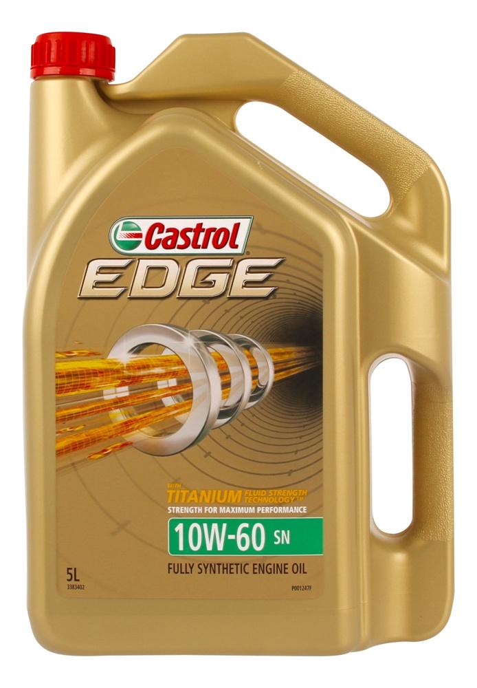 castrol edge 10w60 sn engine oil 5l 3383402 ebay. Black Bedroom Furniture Sets. Home Design Ideas