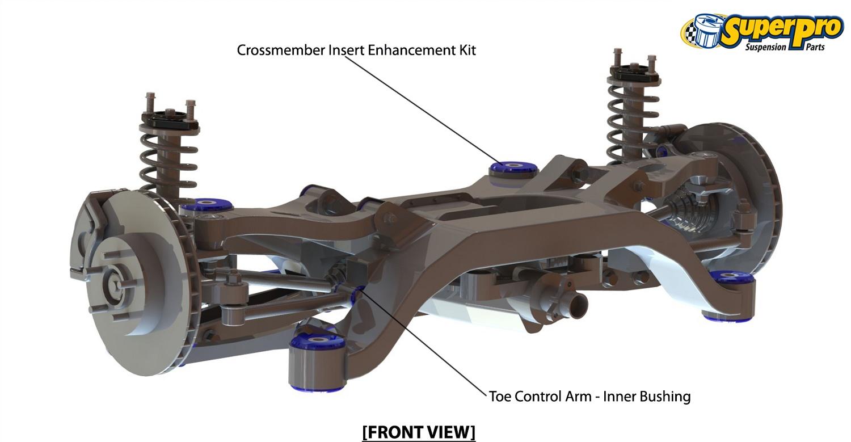 superpro suspension bush vehicle kit kit115k fits opel skyline 2 0 awd r32 2 ebay. Black Bedroom Furniture Sets. Home Design Ideas